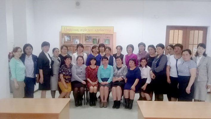 Participants of the training ©Association of Librarians of the Kyzylorda Region